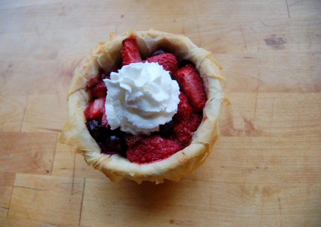 berry tart recipe