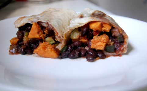 vegan burrito recipe